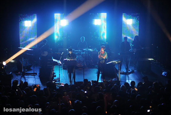 Ladytron, Henry Fonda Theater, April 27, 2009