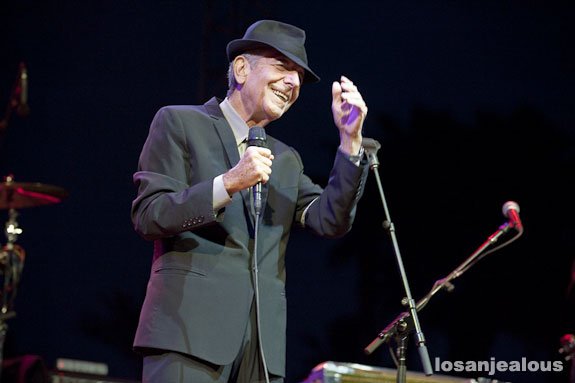 Coachella 2009 Festival Photo Gallery: Leonard Cohen