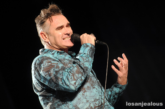 Coachella 2009 Festival Photo Gallery: Morrissey