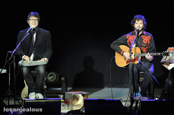 Flight of the Conchords w/ Arj Barker & Eugene Mirman, Greek Theater, May 24, 2009