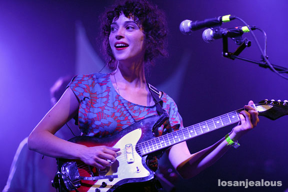 St. Vincent, El Rey Theater, May 28, 2009