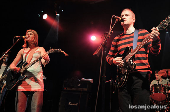 The Vaselines, May 10, 2009, El Rey Theater