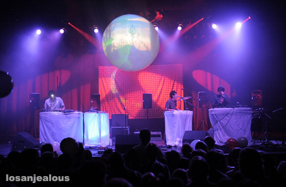 Animal Collective, Wiltern Theater, May 29, 2009