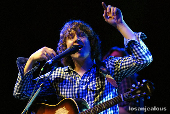 Ben Kweller, June 19, 2009, El Rey Theater