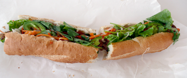 Under $10: Huge Banh Mi Subs at Vinh Loi Tofu