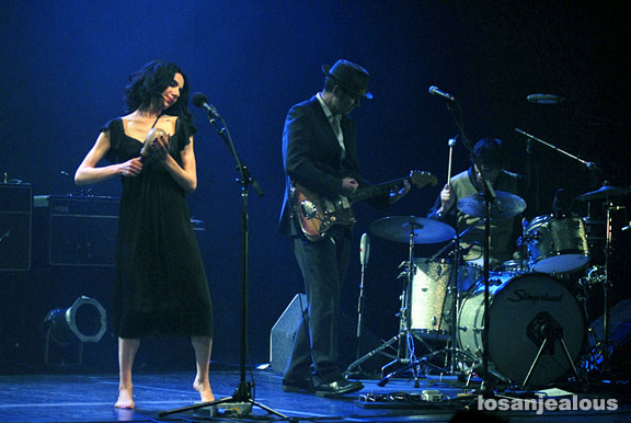 PJ Harvey & John Parish, Wiltern Theater, June 20, 2009
