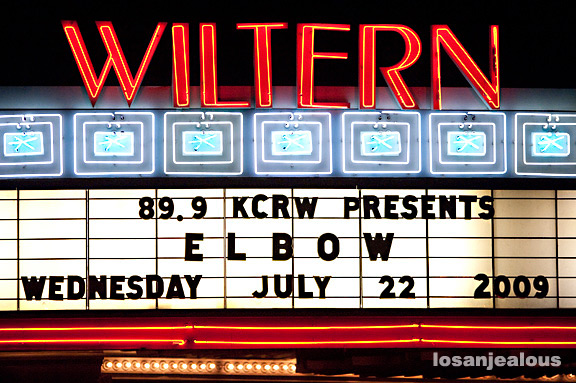 Elbow, Wiltern Theater, July 22, 2009