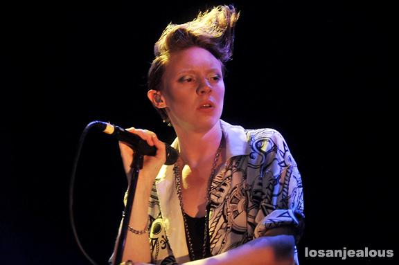 La Roux @ Troubadour, July 24, 2009