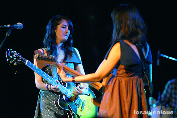 Azure Ray, Glass House, July 17, 2009