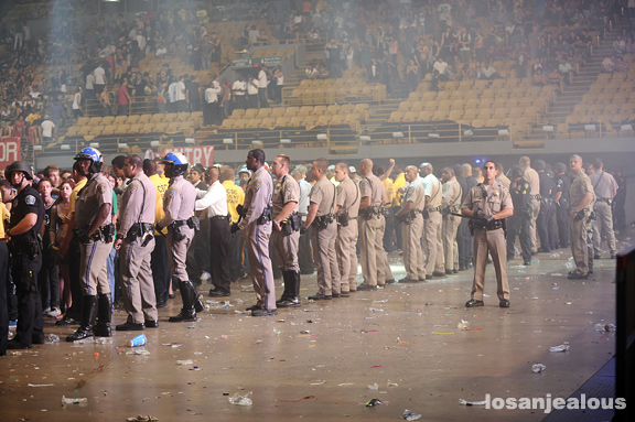 Hard Fest Summer LA at The Forum Shut Down by Police