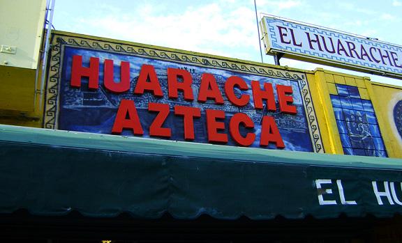 Under $10: Huarache Azteca (Highland Park)