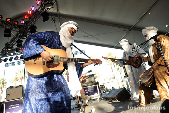 Tinariwen w/ Sophie Hunger & Dublab DJs @ The Luckman This Saturday 10/30–Win Tickets