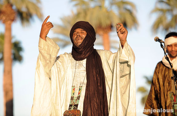Coachella 2009 Festival Photo Gallery: Tinariwen