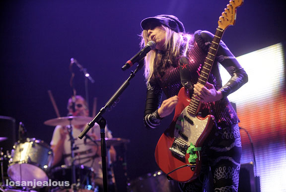 The Ting Tings, Club Nokia, August 4, 2009