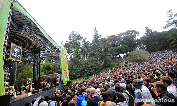 2009 Outside Lands Festival Photo Gallery: Band of Horses