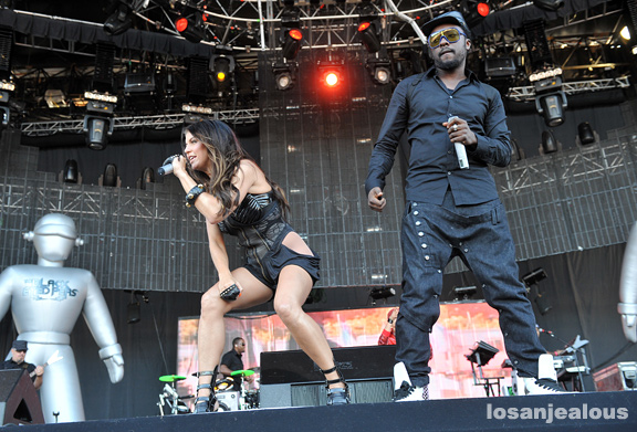 2009 Outside Lands Festival Photo Gallery: Black Eyed Peas
