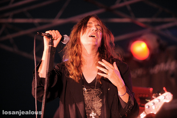 Patti Smith and Her Band, Twilight Dance Series, Santa Monica Pier, September 3, 2009