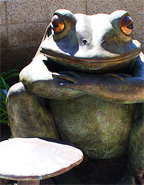 Former Torrance Mayor's Bronzed Frog Draws Ire of Coastal Residents; Frog's Fate in City Council Hands