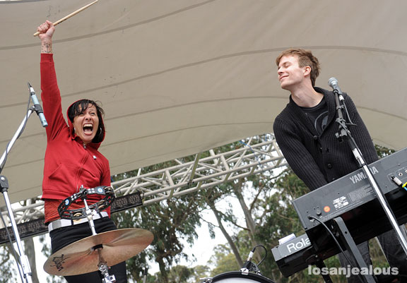 2009 Outside Lands Festival Photo Gallery: Matt & Kim