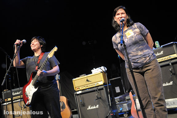 The Breeders, Greek Theater, September 17, 2009