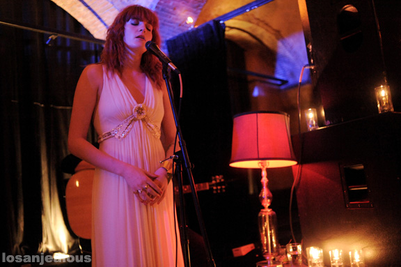 Florence and the Machine, Roosevelt Hotel, October 29, 2009