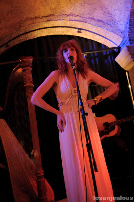 Florence and The Machine @ Roosevelt Hotel, October 29, 2009