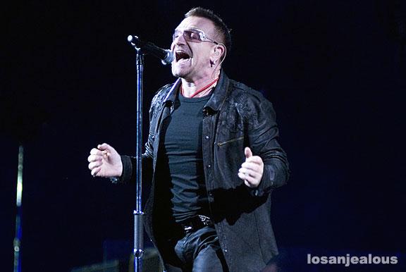 U2, Rose Bowl, October 25, 2009