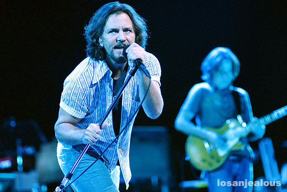 Pearl Jam, Gibson Amphitheater, September 30, 2009