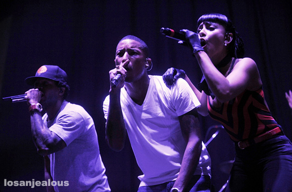 N*E*R*D, UCLA Pauley Pavillion, November 8, 2009