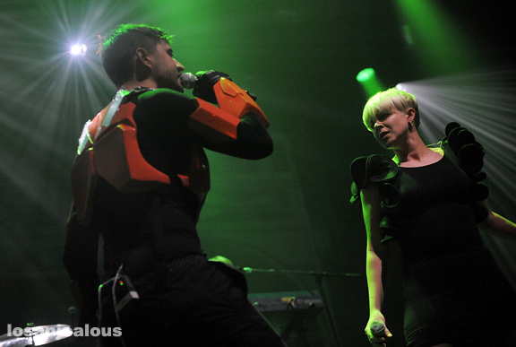 Röyksopp featuring Robyn, Club Nokia, November 18, 2009