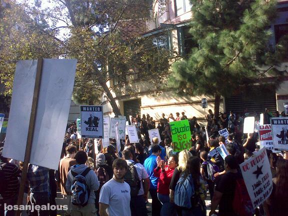 UCLA protest
