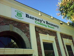 Barney's Beanery Inching Closer to Finally Opening in Westwood