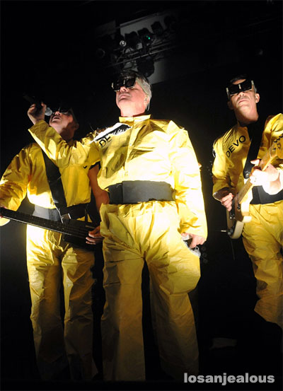 Devo, Performing <em>Q: Are We Not Men? A: We Are Devo!</em> @ Henry Fonda Theater, November 3, 2009