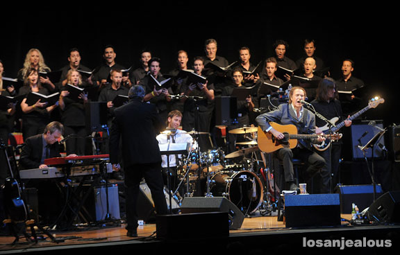 Ray Davies & The Vox Society Choir Perform The Kinks Choral Collection, Orpheum Theater, November 14, 2009