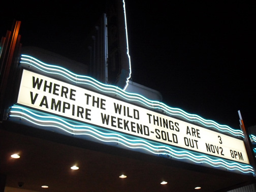 Vampire Weekend Bring Cape Cod Kwassa Kwassa to Long Beach Movie Theater