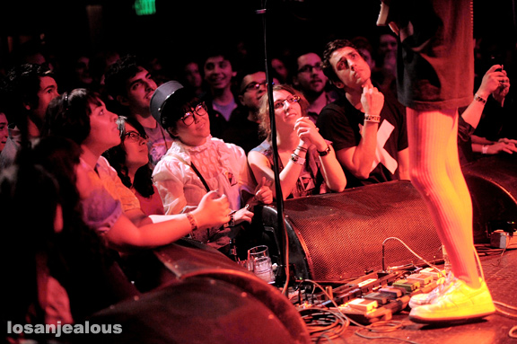 Girls, Troubadour, December 5, 2009
