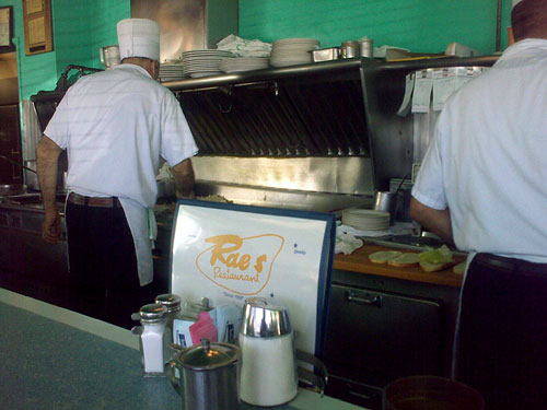 Rae&#8217;s Restaurant, Santa Monica, December 22, 2009, 12:22 pm