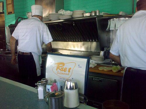 Rae's Restaurant, Santa Monica, December 22, 2009, 12:22 pm