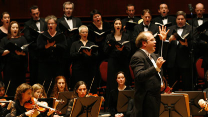 Handel's Messiah, Walt Disney Concert Hall, December 15, 2009