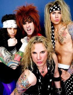 Steel Panther Heads Down The Strip to House of Blues
