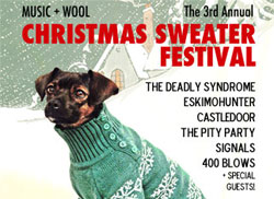 3rd Annual Christmas Sweater Festival
