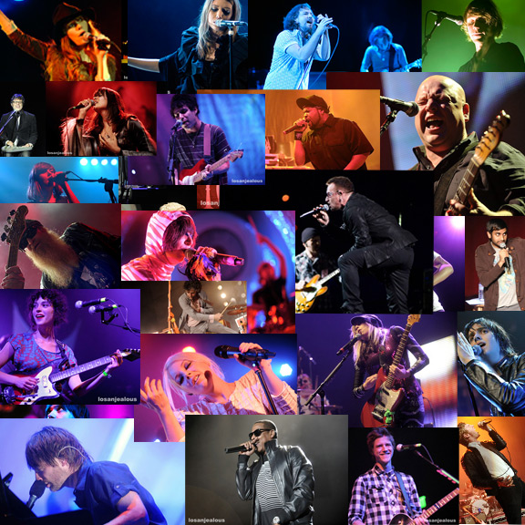 2009: The Year in Los Angeles Live Rock Photos