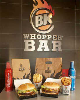 Burger King Whopper Bar in Los Angeles?  Yes, Please!