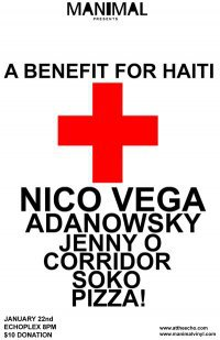 Manimal Records Haiti Benefit with Nico Vega & more, Tonight @ Echoplex