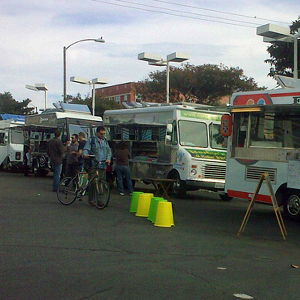 On The Scene at the Santa Monica Food Truck Lot Opening Day