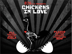 """Mamacita"" by The Peeps Leading Donations for 826LA's Chickens In Love Benefit Album"