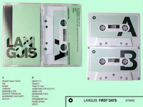 Early Languis Recordings Released by Discotheque Records... on Cassette