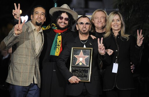 Ringo Starr Finally Gets His Star on Hollywood Walk of Fame