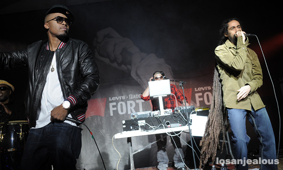 SXSW 2010: Nas & Damian Marley @ Fader Fort, Wednesday 3/17