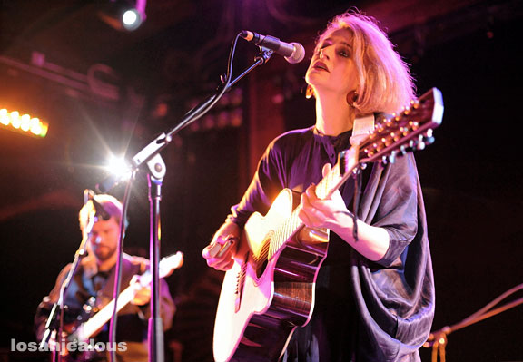El Perro Del Mar, March 3, 2010, Troubadour